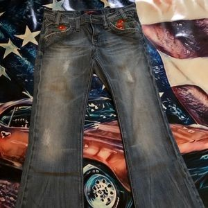 Vigoss embroidered jeans